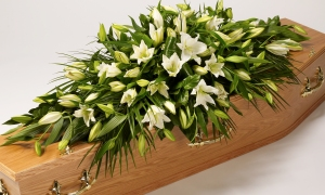 Funeral Flower Company Coffin